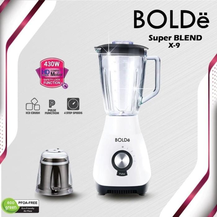 Foto Produk BOLDe Blender Kaca 1.5 Liter - SUPER BLEND X-9 dari UTAMA_ELECTRONIC