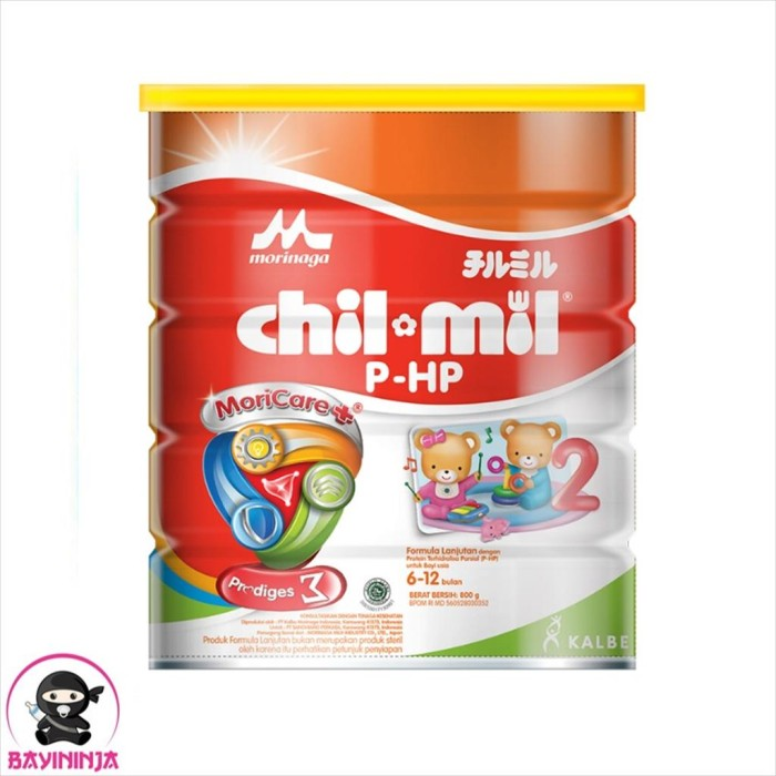 Foto Produk MORINAGA CHIL MIL PHP Susu Formula Lanjutan Tin 800g / 800 g dari BAYININJA