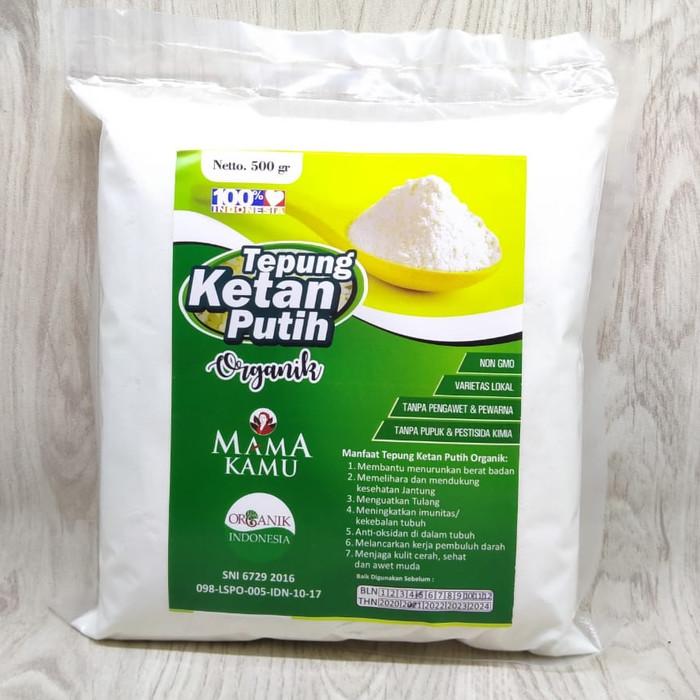 Foto Produk Tepung Ketan Putih Mama kamu 500gr dari Kantin Organik