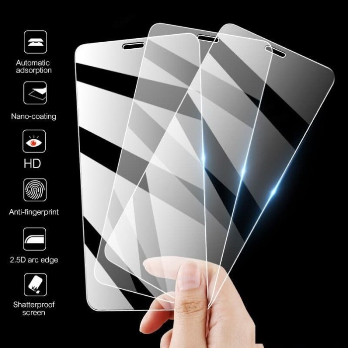 Foto Produk Iphone 4 5 6 7 8 Plus SE 2 2020 X XS XR Max 11 Pro Max Tempered Glass - SE 2 2020 dari NYATACELL