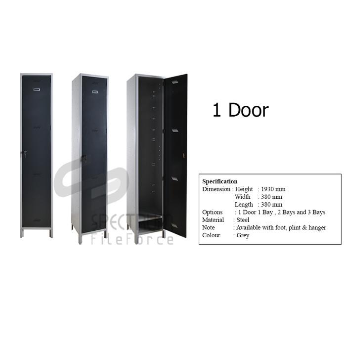 Foto Produk Spectrum Locker / Loker besi / Locker Cabinet - Loker Customize - 1 Pintu dari Spectrum FileForce