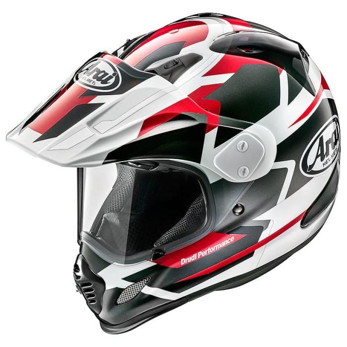 Foto Produk Arai SNI Tour-cross 3 Departure Helm Full Face - Red - M dari Arai Indonesia