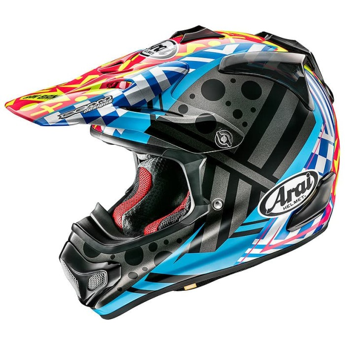 Foto Produk Arai SNI VX-4 BARCIA 2 Helm Motocross - Multicolor - XS dari Arai Indonesia