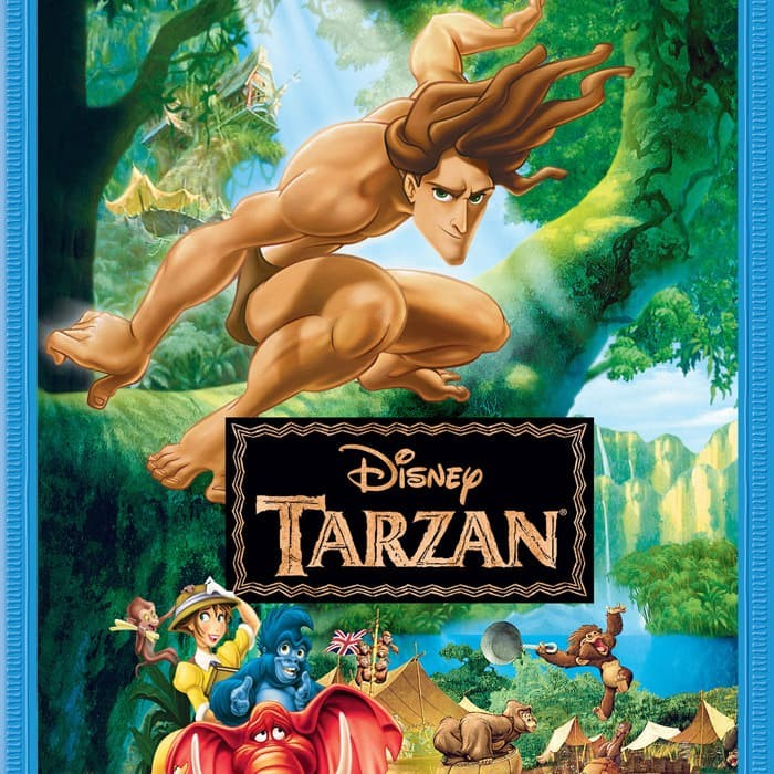 Jual Dvd Film Tarzan 1999 Jakarta Timur Cintafilm Tokopedia