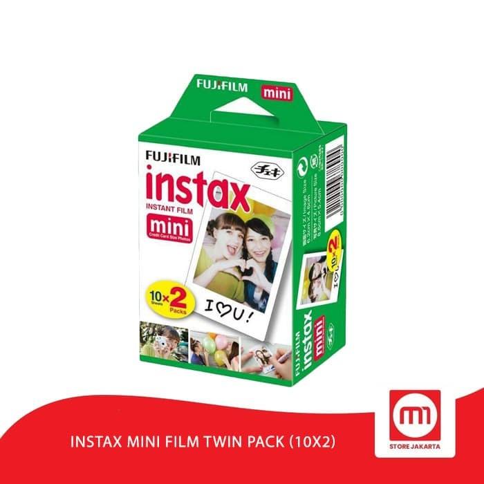 Foto Produk Fujifilm Refill Instax Mini Film Twin Pack dari Mi Store Jakarta