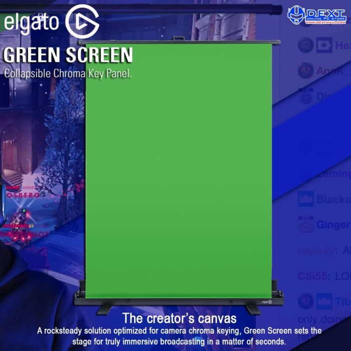 Jual Elgato Green Screen Collapsible Chroma Key Panel ...