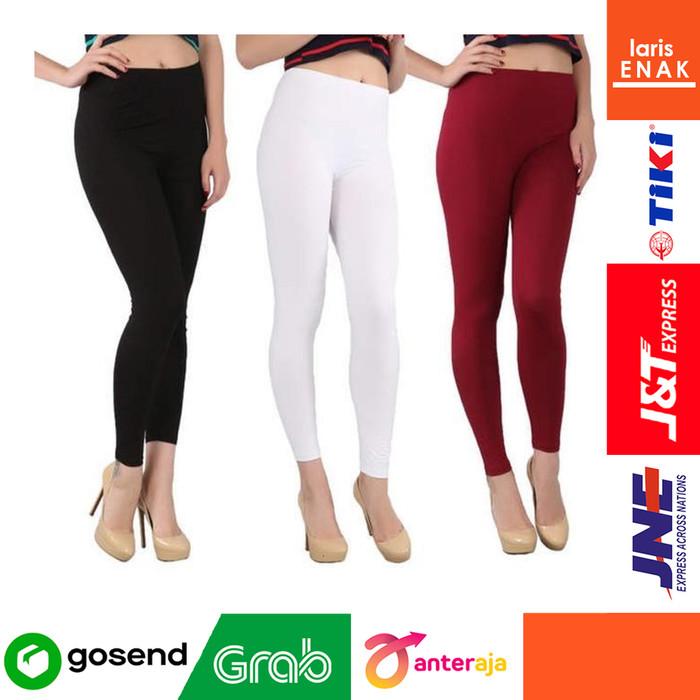 Jual Legging Polos Panjang By Premium Celana Legging Panjang Celana Murah Hitam All Size Kab Bogor Larisenak Tokopedia