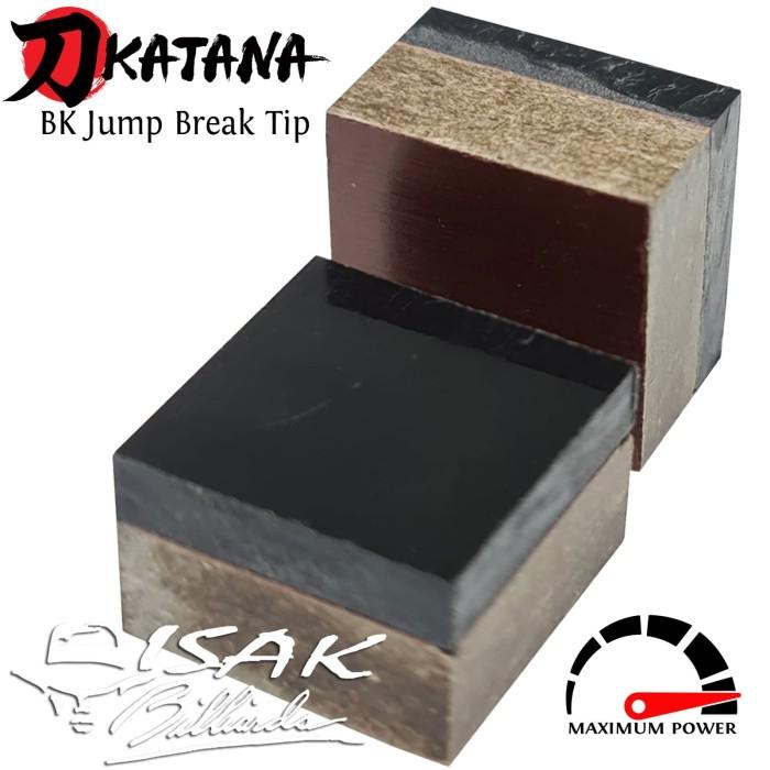 Foto Produk Katana BK Break Jump Tip - Hard Phenolic Cue Tips Billiard Stick JB dari ISAK Billiard Sport Co.