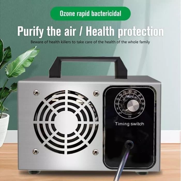 Foto Produk Mesin Ozone Generator 24g Ozonizer Air Purifier Ozon O3 Udara Ruangan dari HRDIK