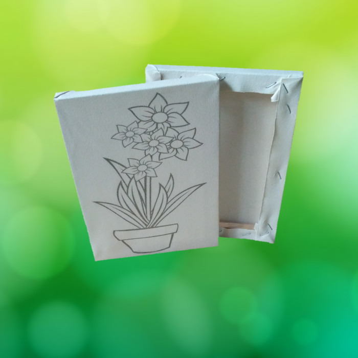 Jual Kanvas Lukis Ber Sketsa Gambar Mewarnai Ukuran 20x15cm Siap Pakai Bunga Tulip 4 Kab Bandung Sasbelshop25 Tokopedia