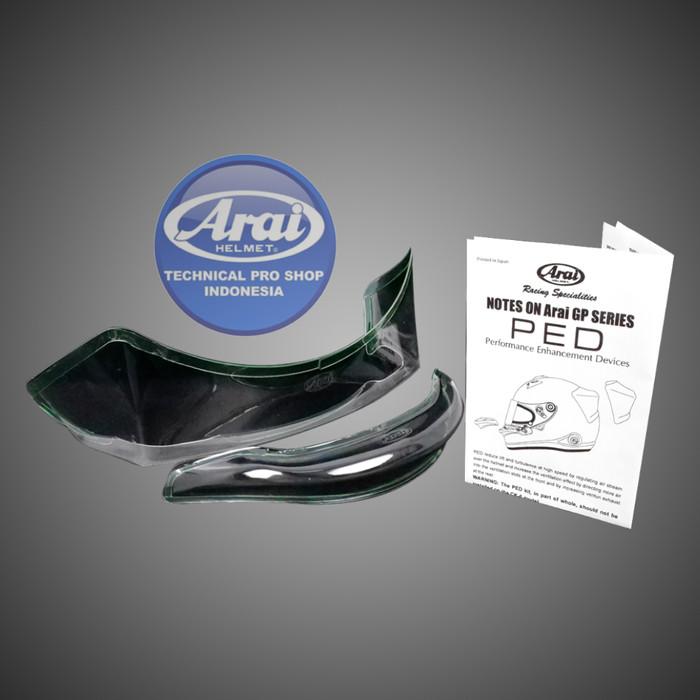 Foto Produk Arai GP-PED SET (2064) Clear dari Arai Indonesia