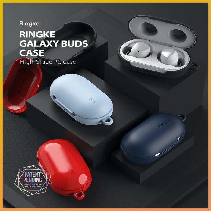 Foto Produk Original Ringke Case Samsung Galaxy Buds 2019 - Stylish Cover Casing - Black dari GadgetLifestyleShop