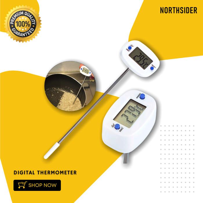 Foto Produk TERMOMETER DIGITAL - DIGITAL THERMOMETER - KOPI MASAK BAKING COOKING dari Northsider coffee shop