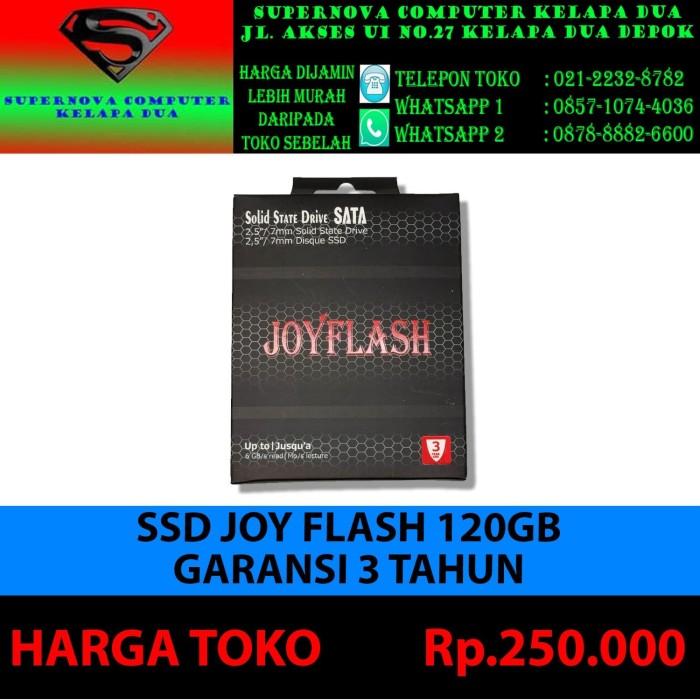 Foto Produk SSD JOY FLASH 120GB GARANSI 3 TAHUN dari Supernova Computer Ariet