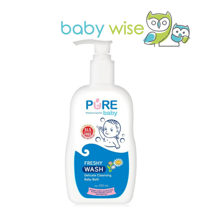 Foto Produk PURE Baby Wash 2 in 1 Freshy 230ml dari Baby Wise