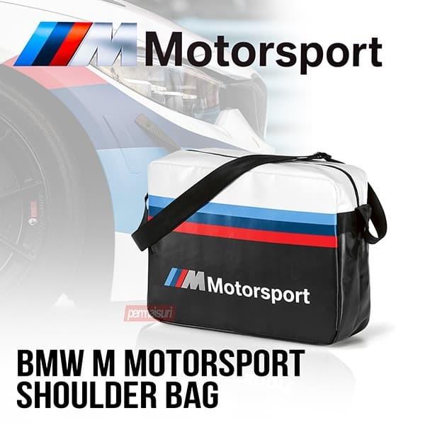 Foto Produk BMW M MotorSport Shoulder Bag Original │Tas BMW Original dari PERMAISURI