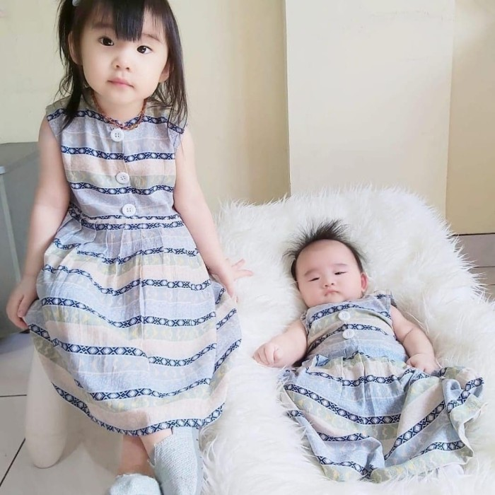 Foto Produk Home Dress Anak bahan Rayon Virscose | Dress Santai | TIFFANY DRESS - Size S dari B_BabyStore