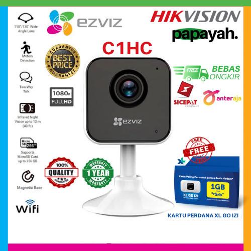 Foto Produk EZVIZ C1HC 1080P INDOOR SMART WIFI IP CAMERA WIDE ANGLE PENGGANTI C1C - C1HC dari Papayah