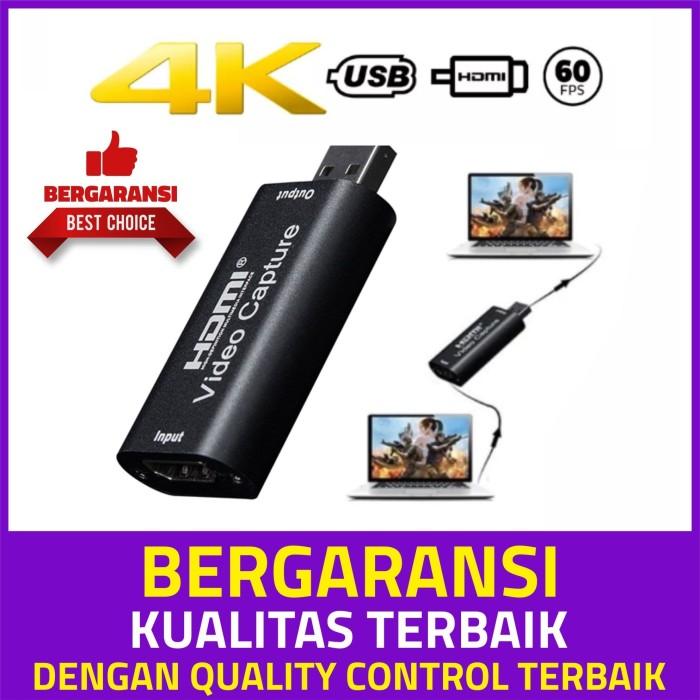 Foto Produk HDMI Video Capture Card 1080p, untuk streaming game, live meeting dari Alif Medic