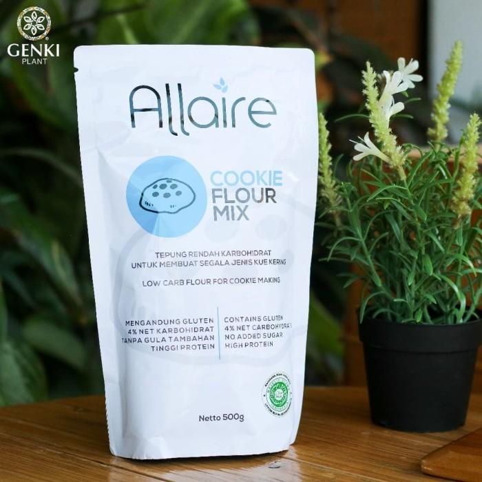 Foto Produk Allaire Cookies Flour Mix (Keto Friendly) - 500 g dari Genki Plant