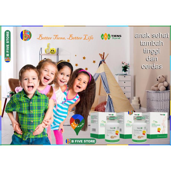 Foto Produk Paket Peninggi Badan Tiens untuk anak usia 1-12 tahun Tianshi dari B Five Store