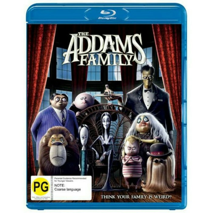 Jual Blu Ray The Addams Family Jakarta Utara V I P Digital Tokopedia