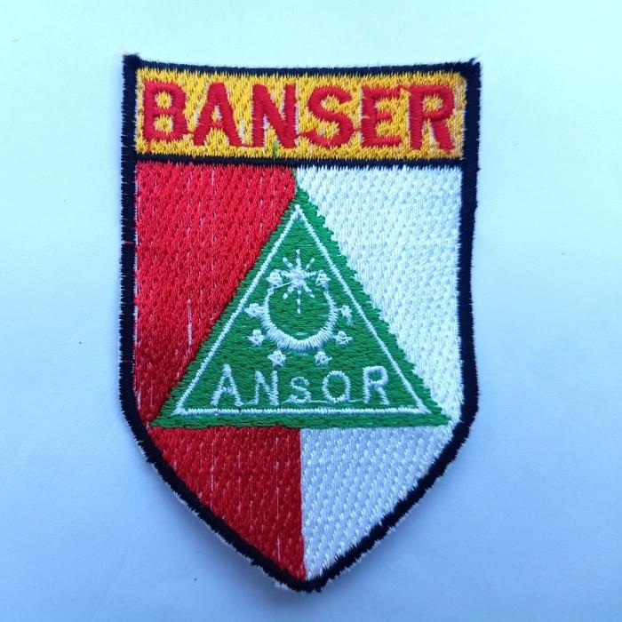 Jual Bet Bordir Logo Banser Kab Kudus Kirza A Tokopedia