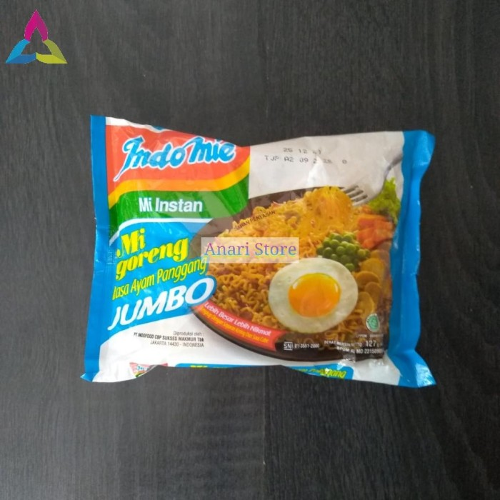 Foto Produk INDOMIE Mie Mi Goreng Jumbo Ayam Panggang 127g dari Anari Store