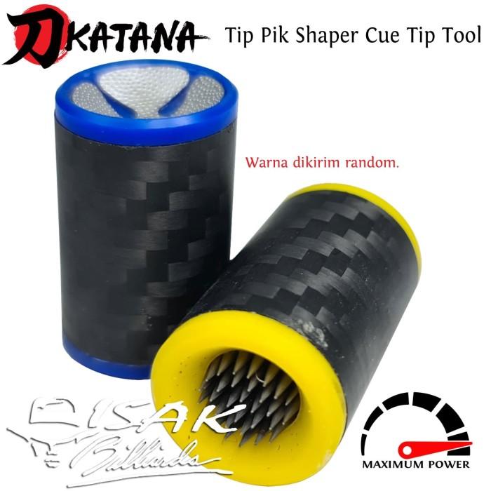 Foto Produk Tip Tool 2-in-1 Cue Shaper Pik - Alat Jarum Reparasi Stick Billiard Q dari ISAK Billiard Sport Co.