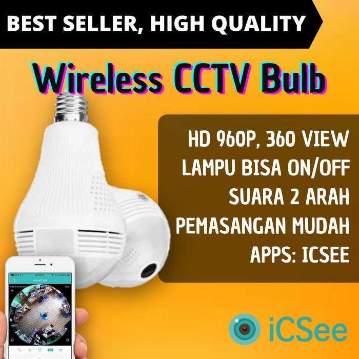 Jual KAMERA CCTV LAMPU WIRELESS WIFI BOHLAM - Kota