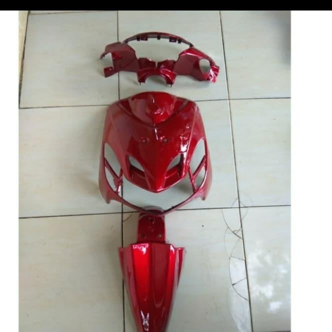 Foto Produk Paketan Depan Body Mio Smile merah dari Rizal_Sparepart