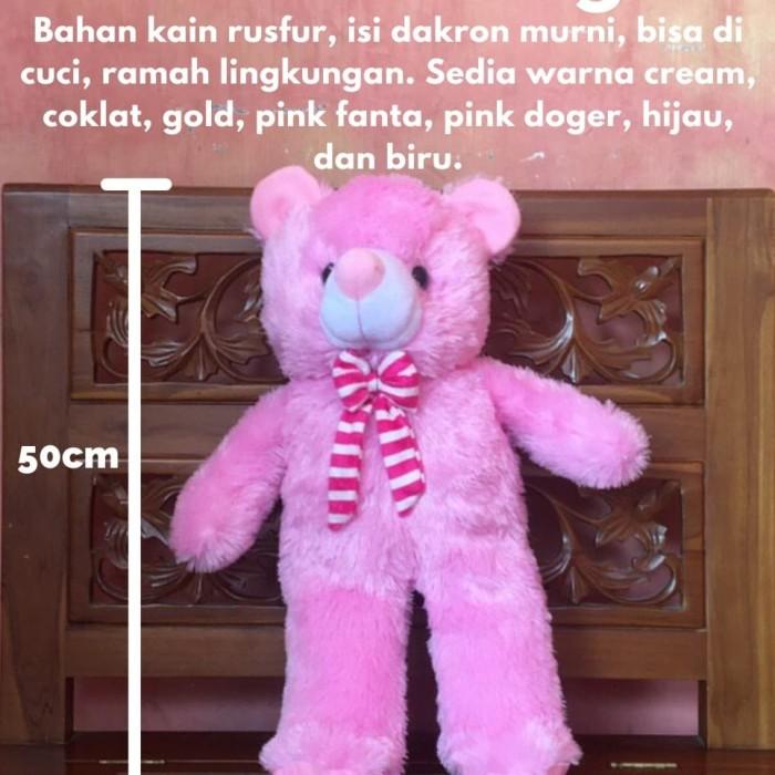 Cute Lamb Stuffed Animals, Jual Boneka Teddy Bear M 50cm Biru Kab Pacitan Dodoots Tokopedia