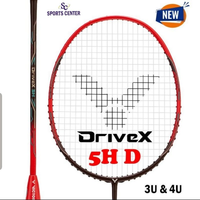 Foto Produk New !! Raket Badminton Victor Drive X 5H / DX-5H / DX 5H dari Sports Center