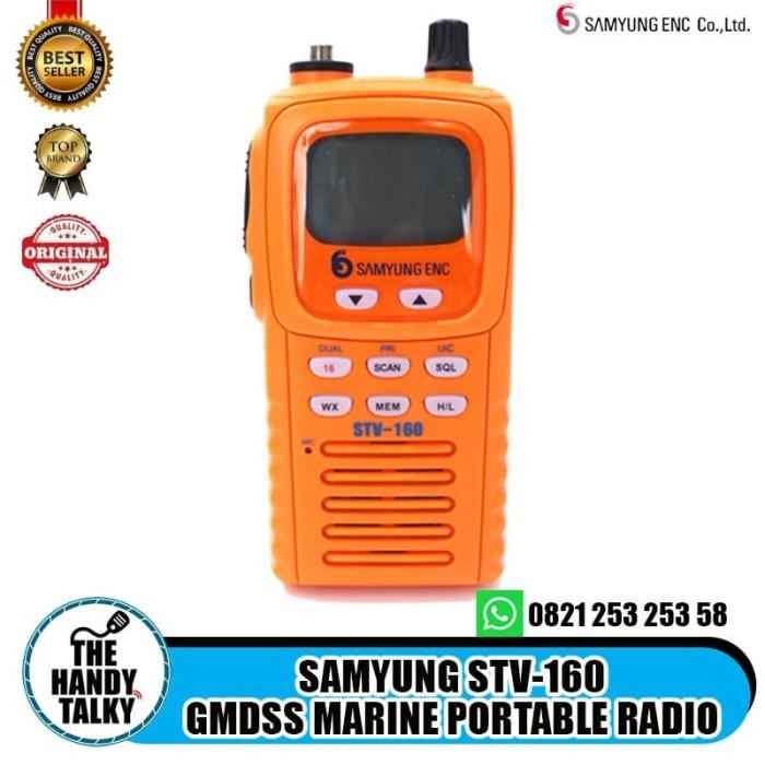 Foto Produk SAMYUNG STV-160 GMDSS MARINE PORTABLE RADIO dari The Handy Talky