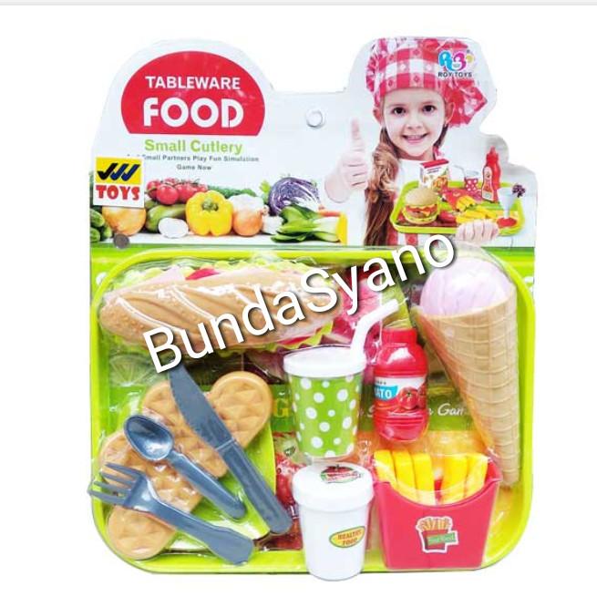 Jual Mainan Anak Hotdog Eskrim Kentang Jakarta Utara Bunda Syano Tokopedia