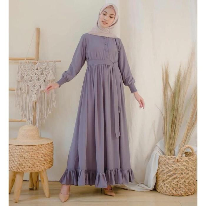Jual Baju Gamis Cod Baju Muslim Wanita Terbaru 2020 Gamis Polos Ld 95 100 Jakarta Timur Etyas Mall Tokopedia
