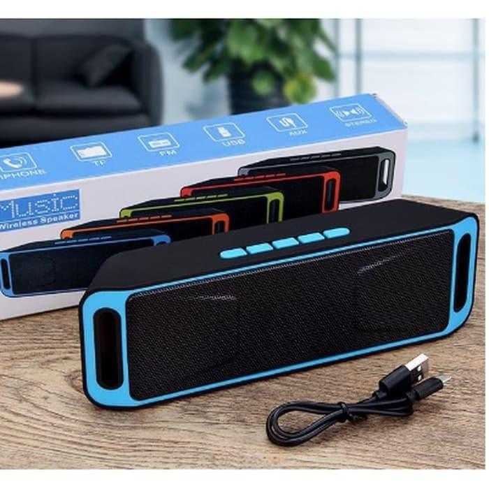 Foto Produk Speaker Bluetooth Stereo A2DP Megabass / Music Wireless Speaker dari AnerStore