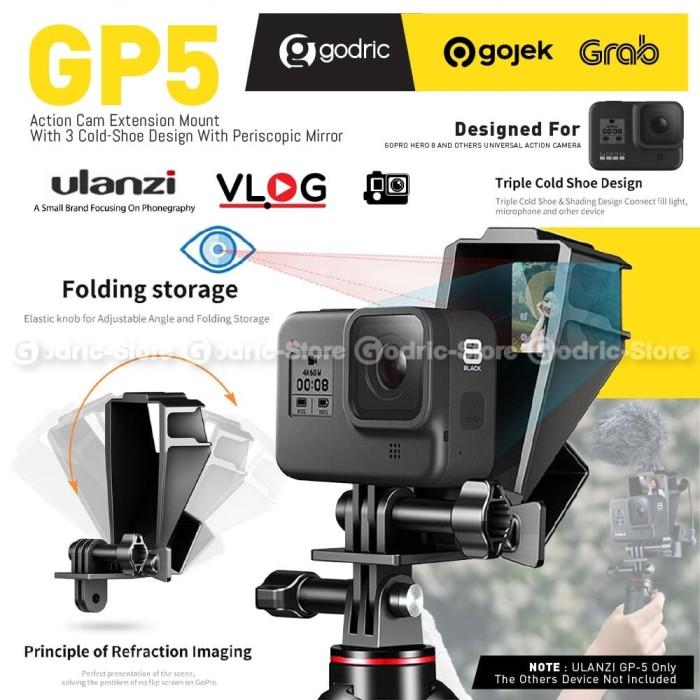 Foto Produk ULANZI GP-5 Selfie Flip Screen Mirror GoPro / Univ. Action Camera Vlog dari Godric Store