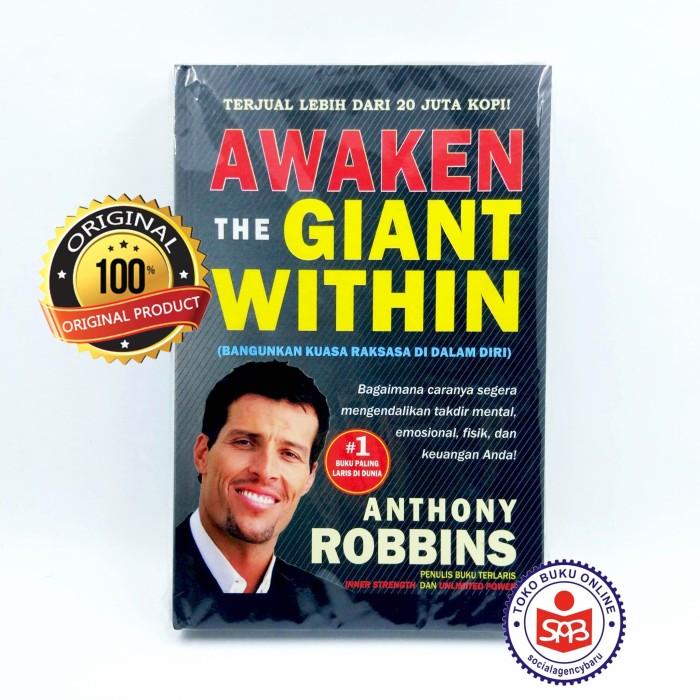 Foto Produk Awaken The Giant Within Cara Revolusioner - Anthony Robbins dari Social Agency Baru
