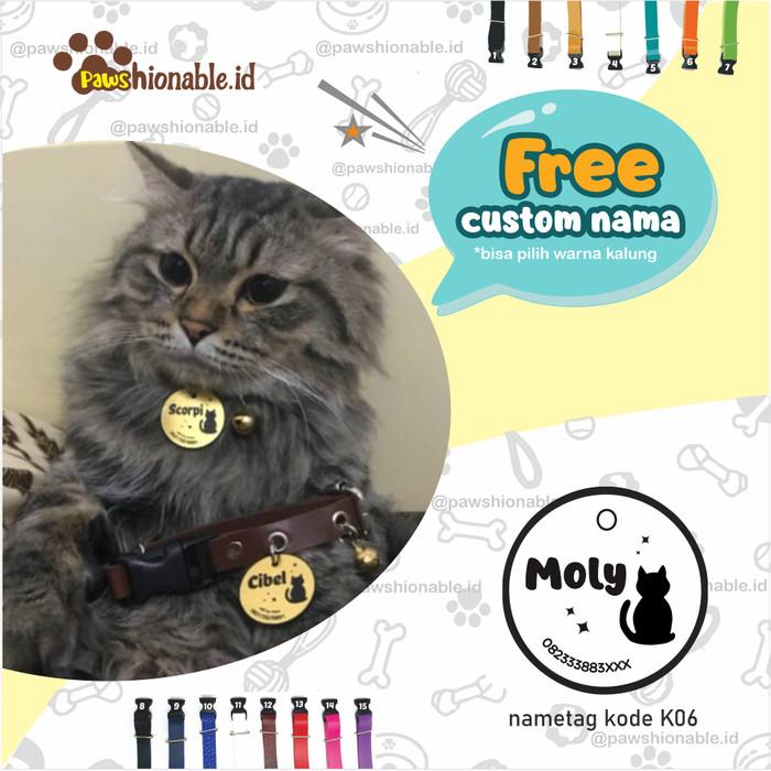 Jual K06 Kalung Custom Nama Kucing Anjingfree Lonceng Aksessoris Hewan Kab Nganjuk Kalungkucing Tokopedia