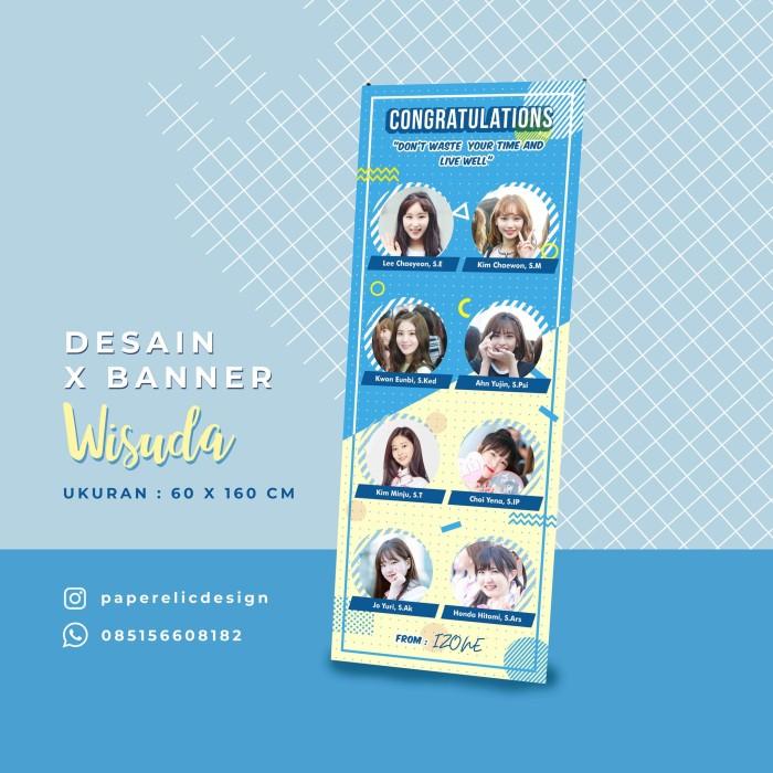 Jual Banner Wisuda Desain Xbanner Banner Sidang Hadiah Wisuda Kab Magelang Paperelic Design Tokopedia