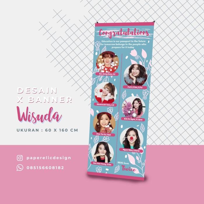 Jual Xbanner Wisuda Desain Banner Sidang Banner Skripsi Banner Kelompok Kab Magelang Paperelic Design Tokopedia