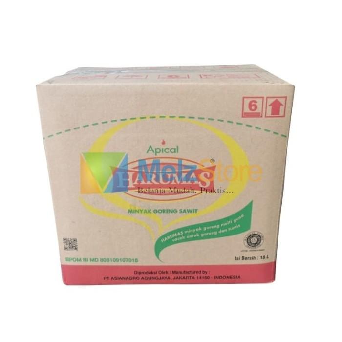 Foto Produk Minyak Goreng Sawit HARUMAS 18 Liter Bag in Box BIB dari MelzCorp
