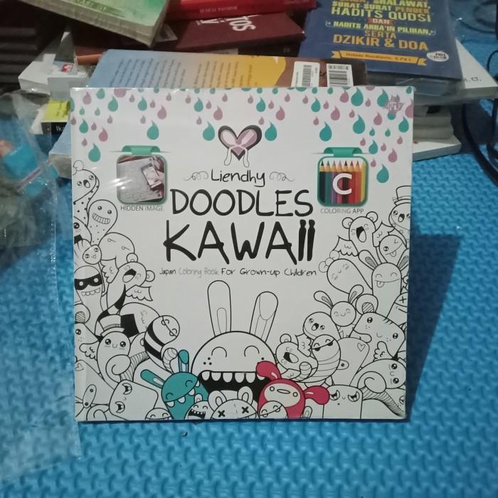 Jual Doodles Kawaii Japan Coloring Book For Grown Up Children Liendhy Kota Surakarta Samudra Solo Tokopedia