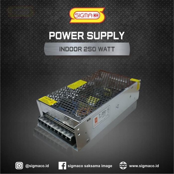 Foto Produk Power Supply Indoor 12V 250W 20.83A - Adapter Trafo 12 Volt 250 Watt dari pt.sigmaco