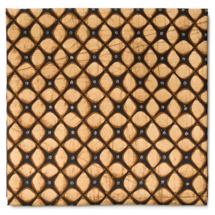 Foto Produk Kain Batik Tulis Sogan Klasik Motif Kawung Tepi Suketan dari Kainusa