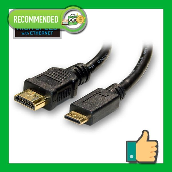 Foto Produk Kabel HDMI High Speed to mini HDMI Cable ver 1.4, 4K, 1080P, 3D, Gold dari futureshopid