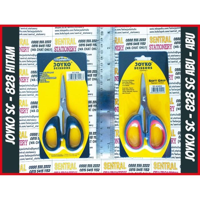 Foto Produk joyko gunting anak kantor decoupage sc 828 sg soft grip gagang empuk dari Sentral Stationery