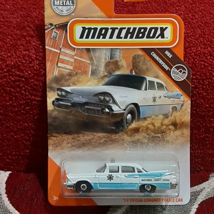 Jual Matchbox 59 Dodge Coronet Police Car 2020 Kota Bandung Dejoss Colection Tokopedia