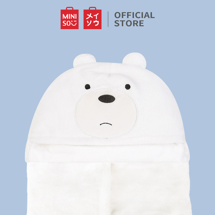Foto Produk MINISO Selimut AC We Bare Bears Air Conditioner Blanket - Ice Bear dari Miniso Indonesia